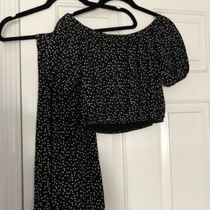 Boohoo Maxi skirt and crop set